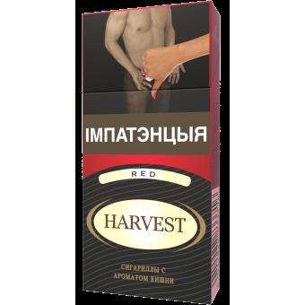 """Сигариллы """"Harvest Red"""" с ароматом вишни (10шт)"""