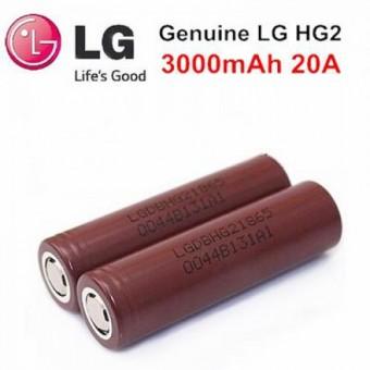 Аккумулятор LG HG2 18650 3000mAh 20А